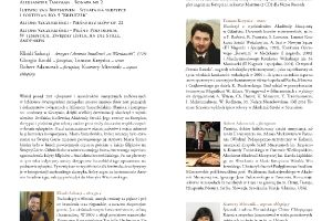 Program XV Festiwalu Musica Sacromontana_4